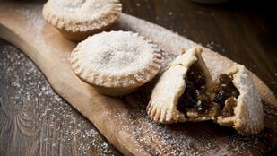 Egy tartalmas, angol karácsonyi desszert: mince pie