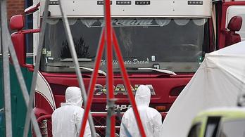 Essexi halálkamion: Lekapcsoltak egy nemzetközi embercsempész hálózatot