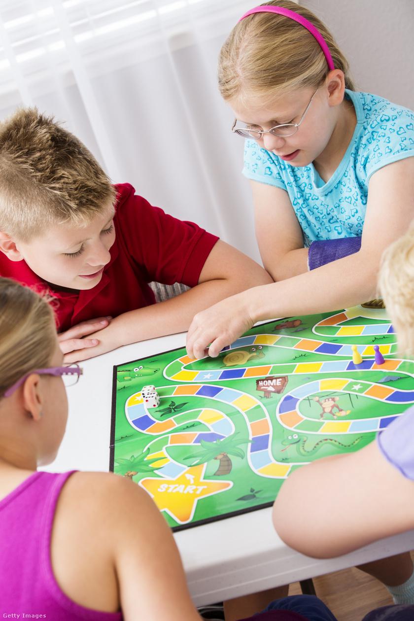 gyerekprogram társasjáték