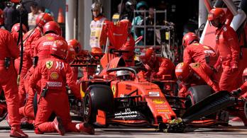 F1: Ferrari-alkatrészeket foglaltak le