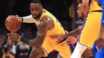 LeBron James új fejezetet nyitott az NBA-rekordokban