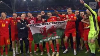 Bale ünnepi zászlóval bosszantotta a Madridot