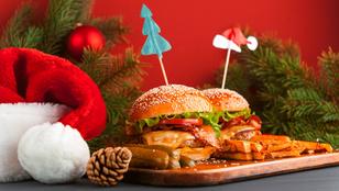 Menő ünnepi vacsora: libamájburger birsalmacsatnival