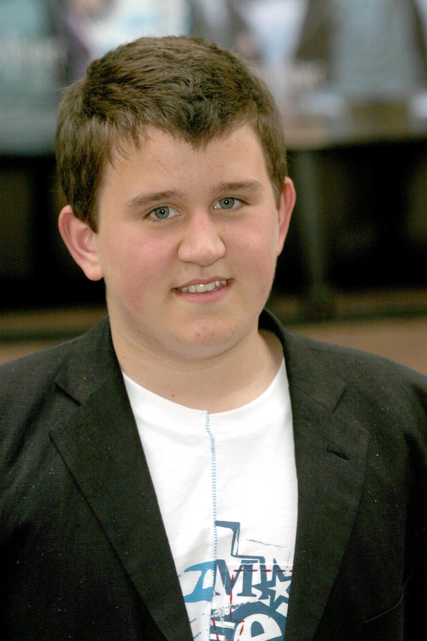 Harry Melling 2004-ben még küzdött a pluszkilókkal.