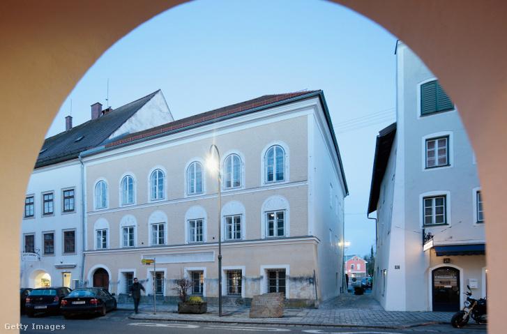 Adolf Hitler szülőháza 2015-ben.