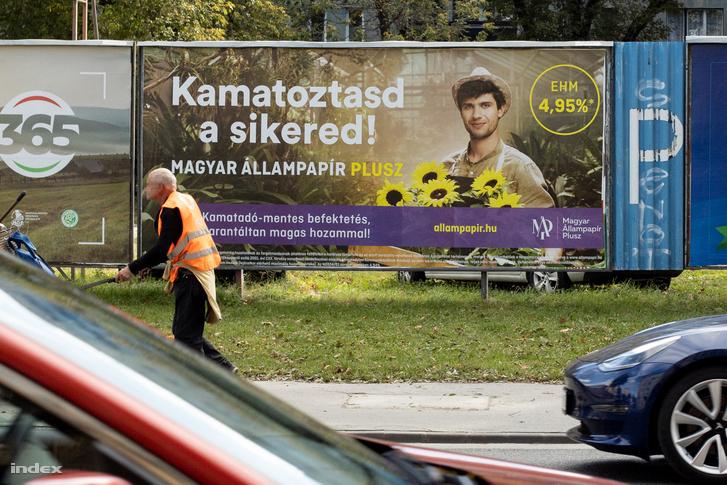 Magyar Állampapír Plusz reklám