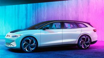 Gyártásba megy a VW elektromos kombija