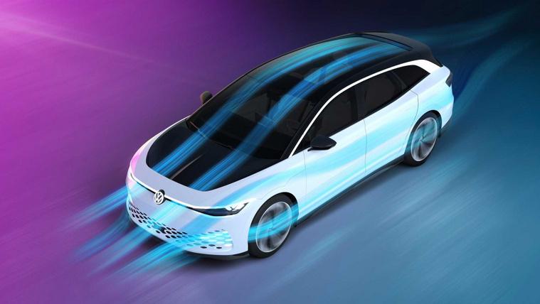 Space Vizzion: a jövő Volkswagen kombija