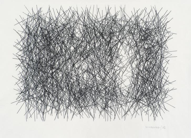 Vera Molnar: Interruptions No 1, 1968