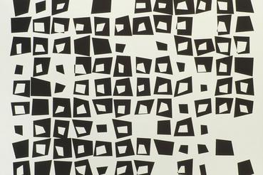 Vera Molnar: Congruence aléatoire, 1973