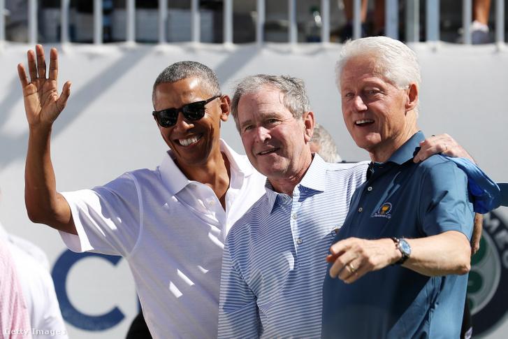 Három boomer elnök: Barack Obama, George W. Bush és Bill Clinton