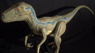 Jurassic Newsworld: Gigantikus Velociraptor Blue