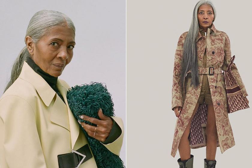 65 évesen kezdett modellkedni a nyugdíjas hölgy, elképesztő divatikon lett: kifutókon és címlapokon pózol