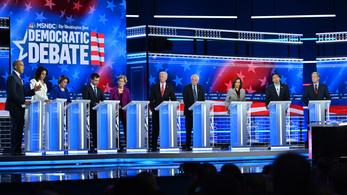 Trump alkotmányos elmozdításáról is vitáztak a demokrata elnökjelölt-aspiránsok