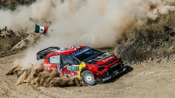 A Citroën váratlanul kiszáll a WRC-ből