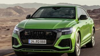 Hatszáz lóerős Q8-ast leplezett le az Audi
