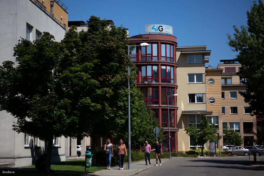 4iG székháza Budapesten