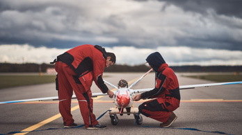 Szuperhatékony repülőszárnyat teszteltek a SZTAKI kutatói