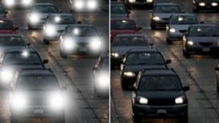 Vigyázat: életveszélyes fényhatások az utakon!