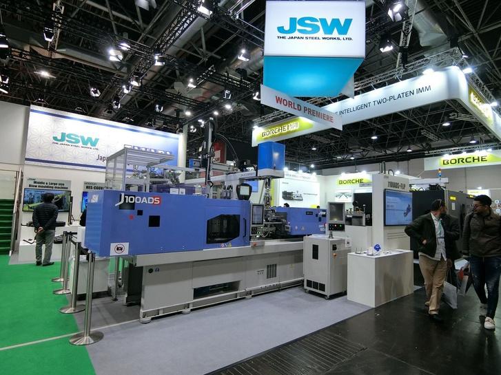 A japán JSW csak teljesen elektromos fröccsöntőgépeket gyárt