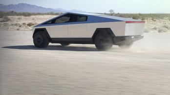 Rozsdamentes, golyóálló sci-fi-tank az új Tesla