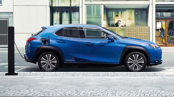 Elkészült az első elektromos Lexus