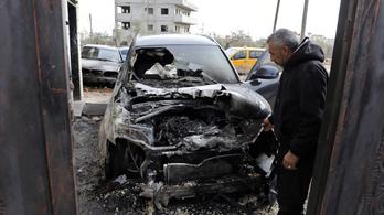 Izraeli szélsőségesek mecsetekre és palesztinok otthonaira támadtak