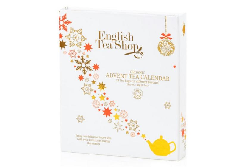 English tea shop calendar