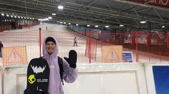 Európa-kupát nyert a snowboardos Fricz Botond