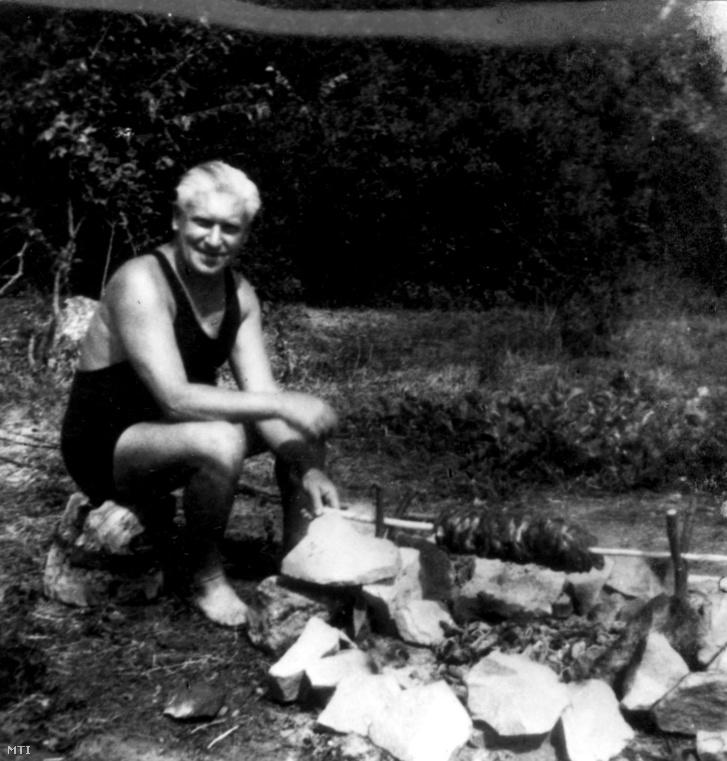 Bajcsy-Zsilinszky Endre Pálkövén 1939-40 körül