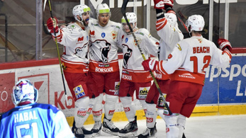 A DVTK magas fölénnyel verte a bajnokság tetején trónoló Slovant