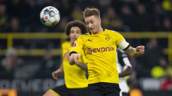 Háromgólos hátrányból állt talpra a Dortmund