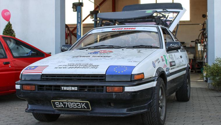 Malajziából a Nürburgringre AE86-tal