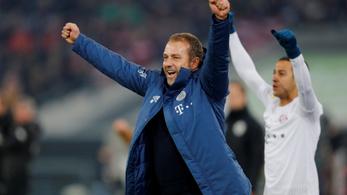 Megint 4-0-ra nyert beugró edzőjével a Bayern