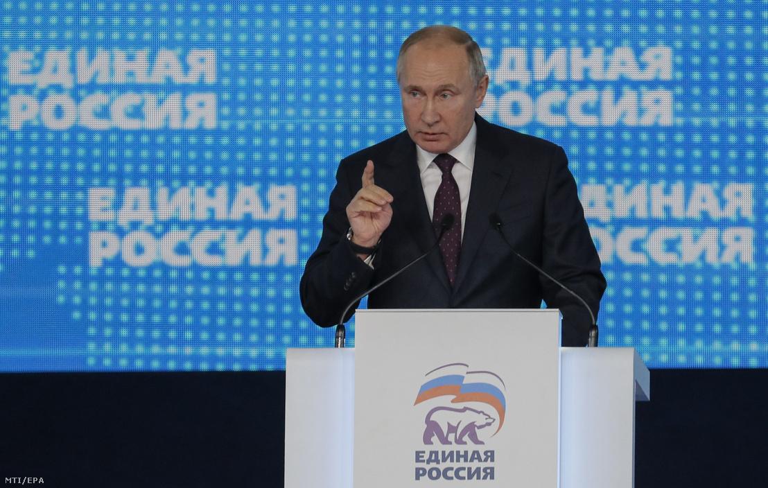 Vlagyimir Putyin megújulásra szólította fel pártját