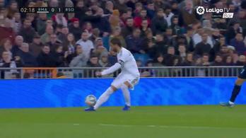 Öngóllal ért fel Sergio Ramos hanyagsága