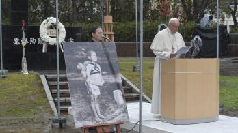 Nukleáris leszerelésre szólított fel Ferenc pápa