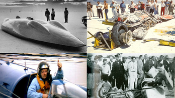 Öt sebességi rekordkísérlet, aminek tragikus vége lett