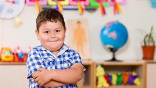 A túlsúlyos gyerekek rosszabb jegyekre számíthatnak az iskolában