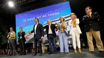 Hajszálnyi előnnyel nyert a jobboldali elnökjelölt Uruguayban