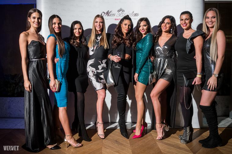 Téli bulit tartottak a hétvégén a Miss Balaton szépségverseny résztvevői
