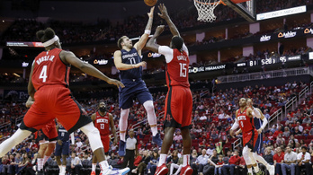 NBA: Luka Doncic nem tud leállni
