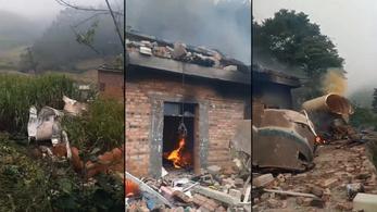 Lakóházakra zuhant egy kínai rakétadarab