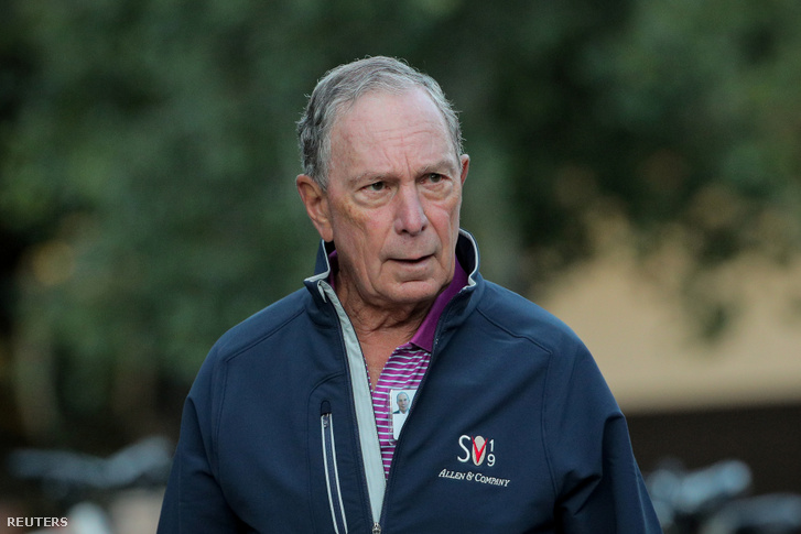 Bloomberg egy 2019-es média konferencián júliusban Sun Valley-ben