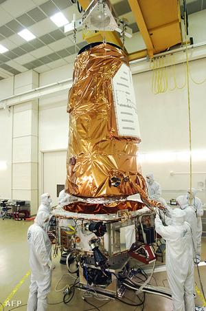 A Kepler távcső felbocsájtás előtt 2009-ben