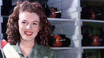 Drónépítéssel indította karrierjét Marilyn Monroe