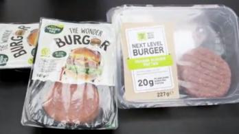 Az Aldiban és a Lidlben is lehet már műhúsos hamburgert venni
