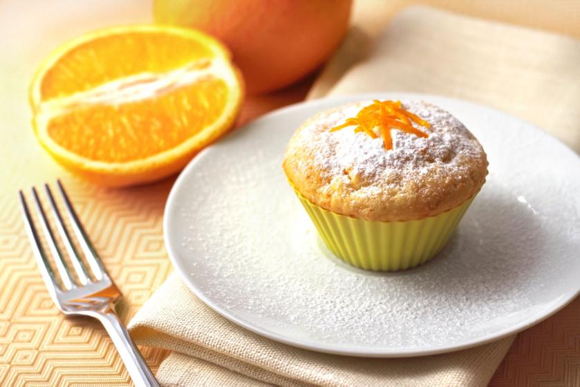 30 perces puha, illatos narancsos muffin: csak keverd össze a hozzávalókat