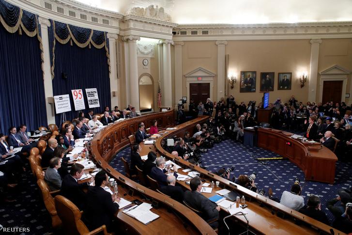 Marie Yovanovitch november 15-i meghallgatása a Capitol Hill-ben, Washingtonban