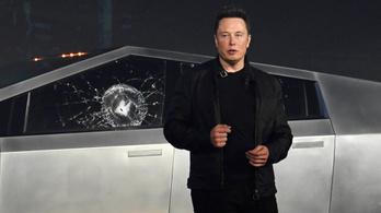 Elon Musk elárulta a törhetetlen ablak betörésének receptjét: betontörő kalapács, majd acélgolyó
